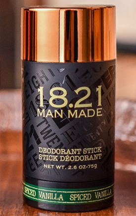 18.21 Man Made Deoderant Stick Spiced Vanilla
