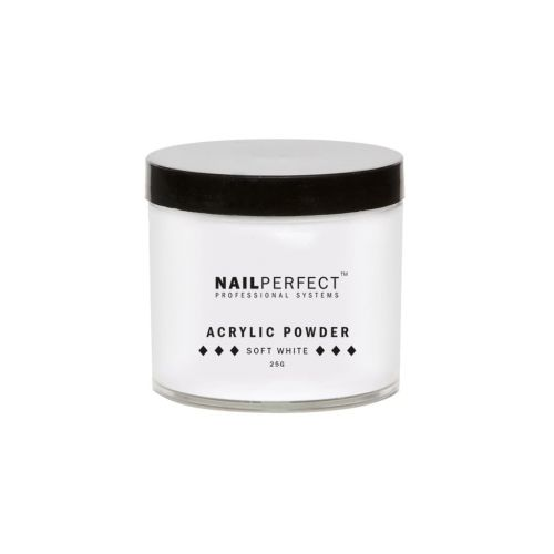 NailPerfect Powder Soft White 25gr