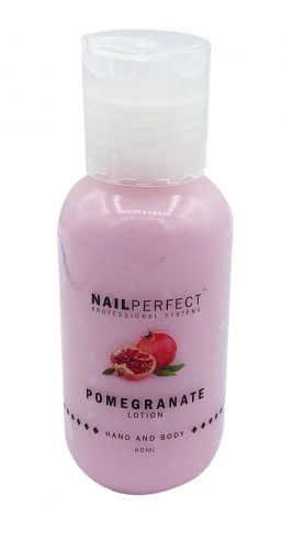 NailPerfect Hand & Body Lotion Pomegranate 60ml