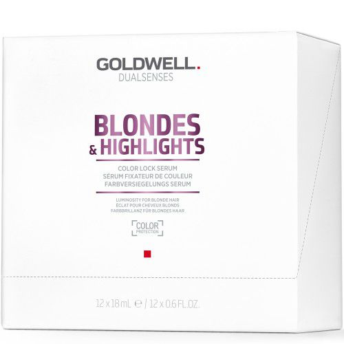 Goldwell Dualsenses Blondes & Highlights Color Lock Serum 12x18ml